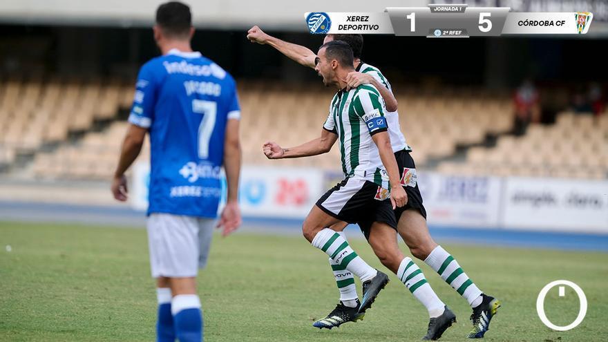 El Córdoba se lleva la victoria en Xerez