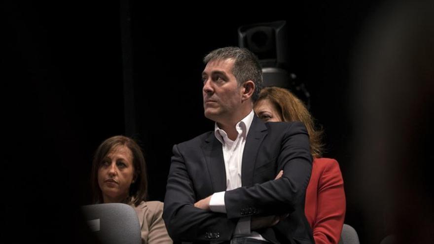El presidente del gobierno Canario, Fernando Clavijo.