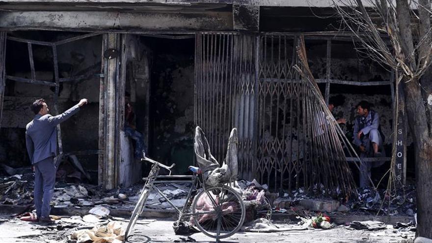 Un comando con al menos cuatro insurgentes ataca la Embajada de Irak en Kabul