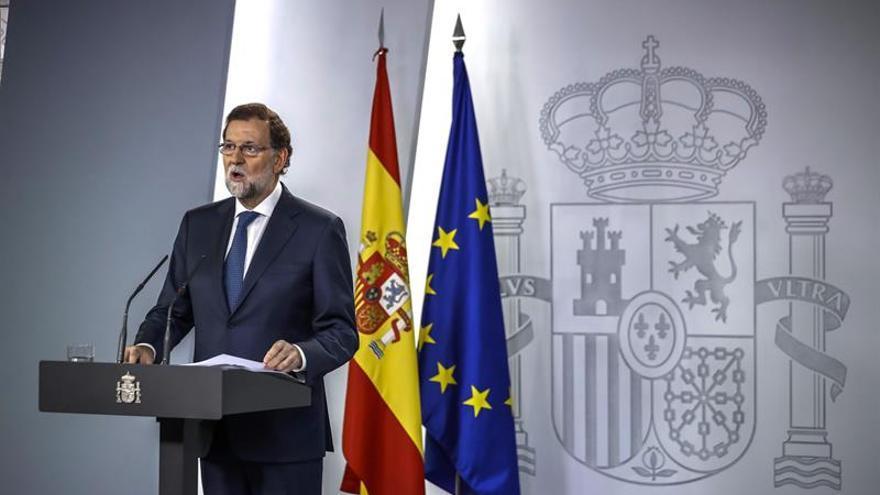"""Rajoy pide una Diada de """"libertad, convivencia y respeto"""" para todos"""
