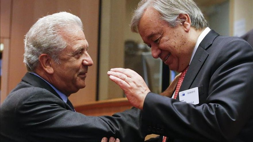El alto comisionado de ACNUR dice que Europa está dividida y vive una situación caótica