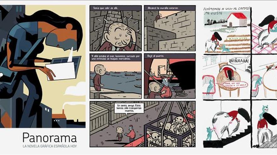 """""""Panorama"""", el retrato del cómic español del siglo XXI"""