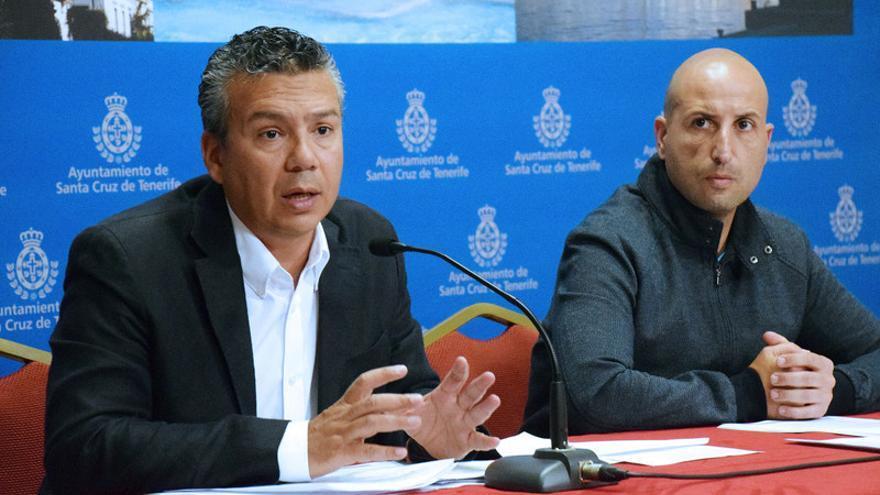 El concejal de Servicios Públicos, Dámaso Arteaga, explicó los pormenores de la nueva autorización del Gobierno / Ayuntamiento de Santa Cruz