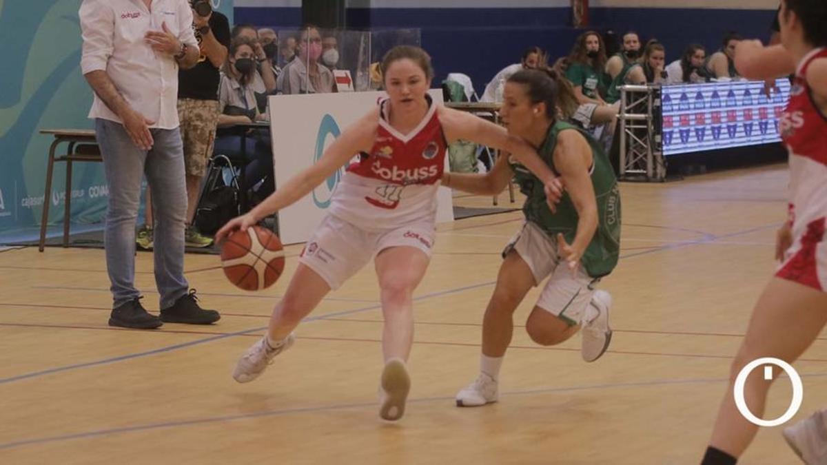 Maddie Hatch, en un partido del Dobuss Córdoba