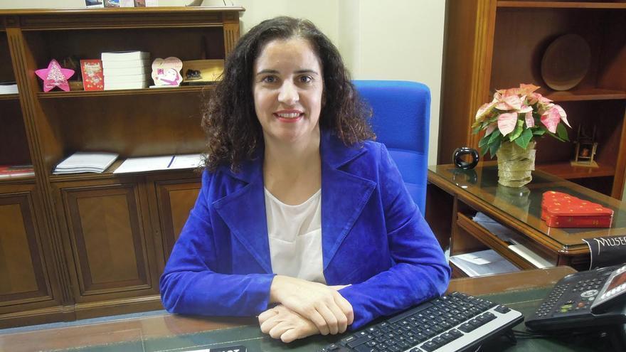 La socialista Jovita Monterrey es la consejera insular de Asuntos Sociales.