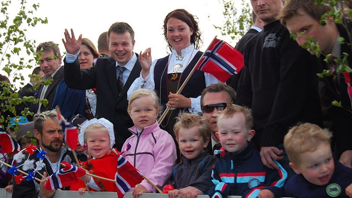 Celebración del 17 de mayo en Noruega