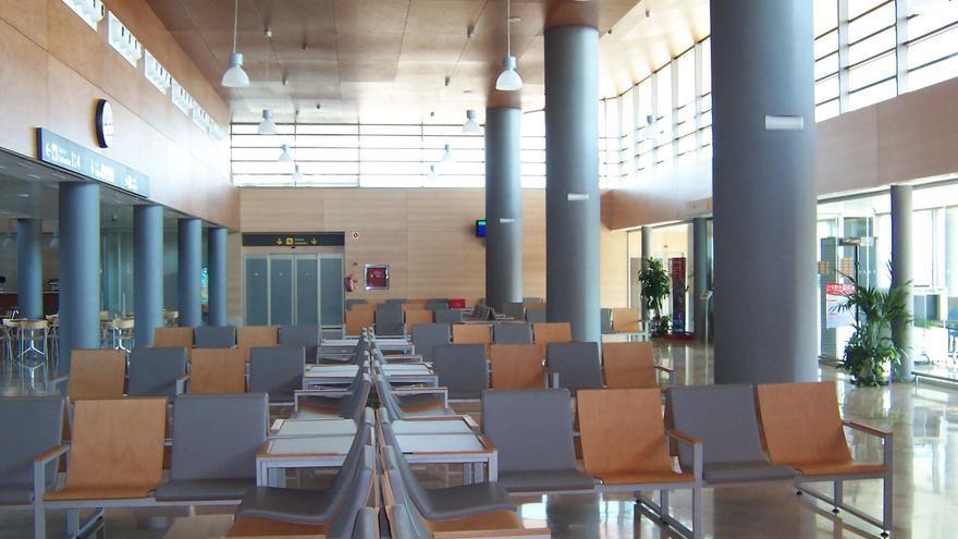 Interior del aeropuerto de Albacete / Foto: AENA