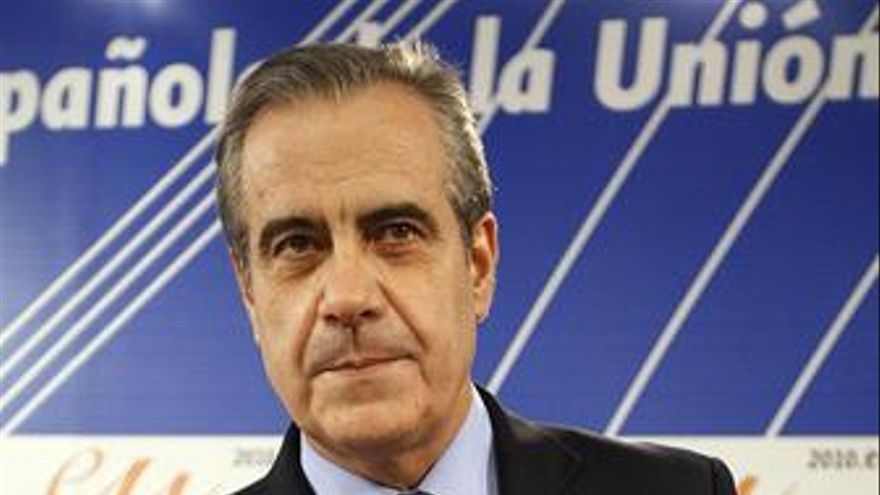 Corbacho en un encuentro con la Confederación Europea de Empresarios en Moncloa