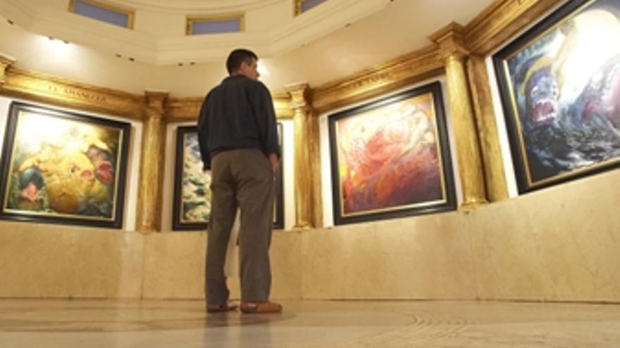 Exposición en el Museo Néstor, en una foto de archivo. (CANARIAS AHORA)