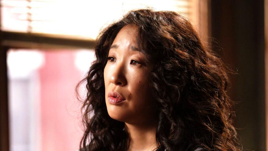 Sandra Oh, en una escena de 'Anatomía de Grey'