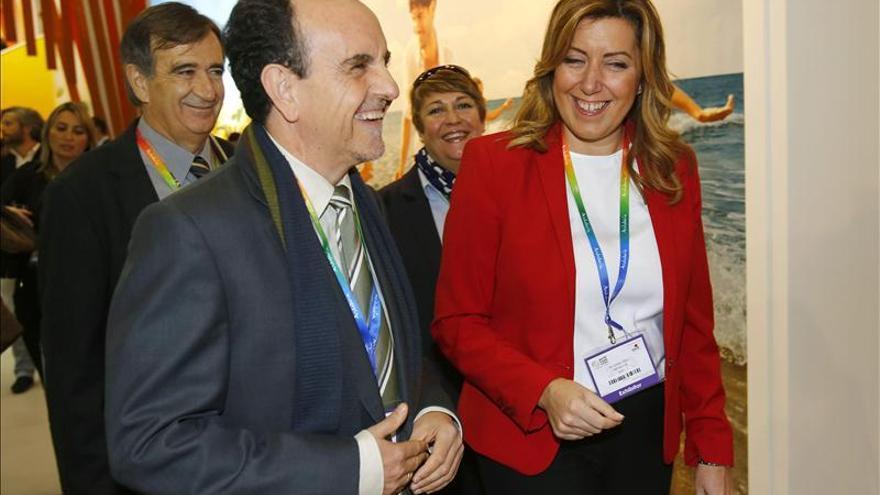"""Díaz quiere que Andalucía sea """"el primer destino turístico del sur de Europa"""""""