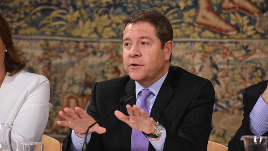 Emiliano García-Page esta semana en el Palacio de Fuensalida