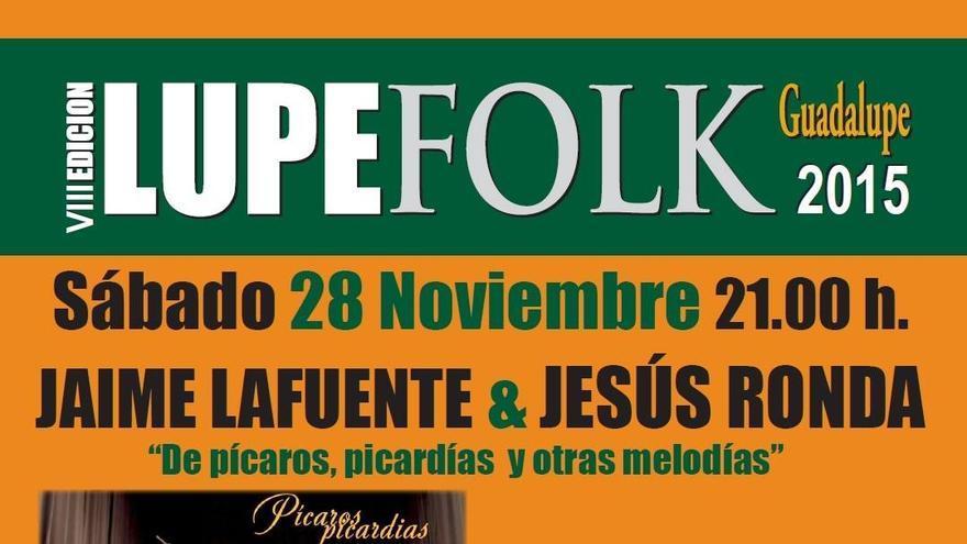 Cartel de la VIII edición de Lupefolk
