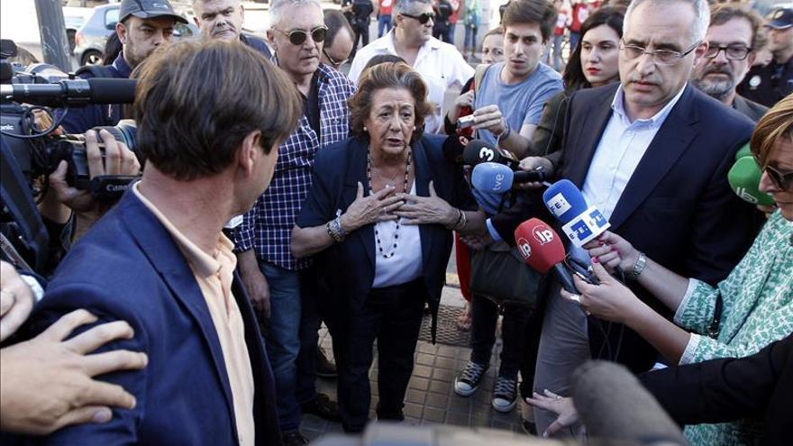 """Barberá descarta optar a senadora y será alcaldesa """"hasta el último minuto"""""""