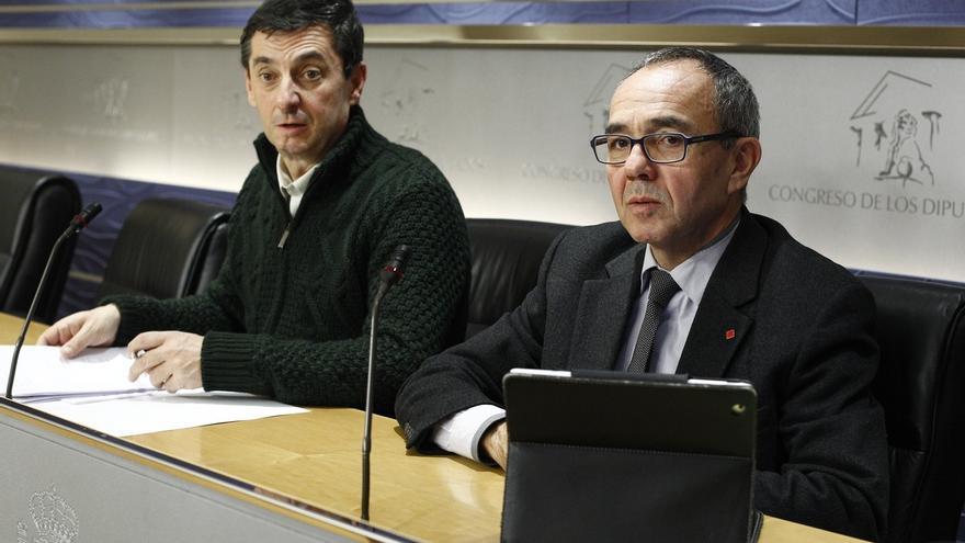 IU-ICV dice que si el decreto antidesahucios no cabe en la Constitución, el problema es la Carta Magna