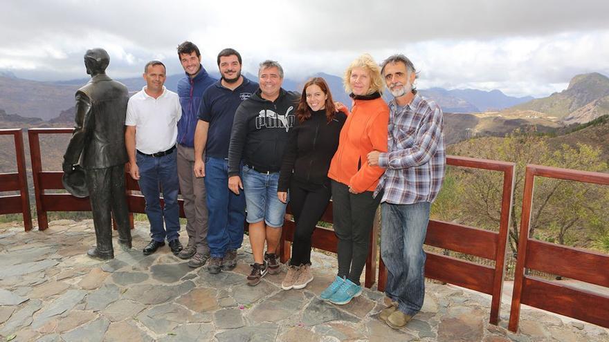 Algunos de los empresarios componentes de Edarte