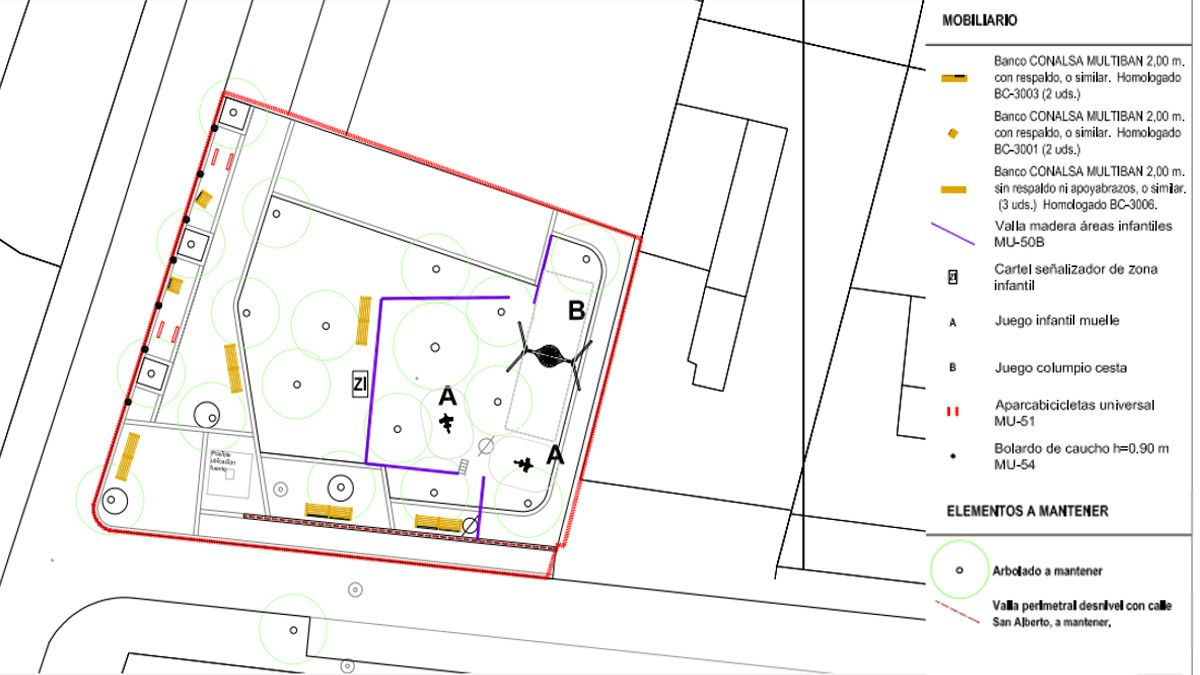 Elementos y usos de la nueva plazuela de San Gregorio | AYUNTAMIENTO DE MADRID