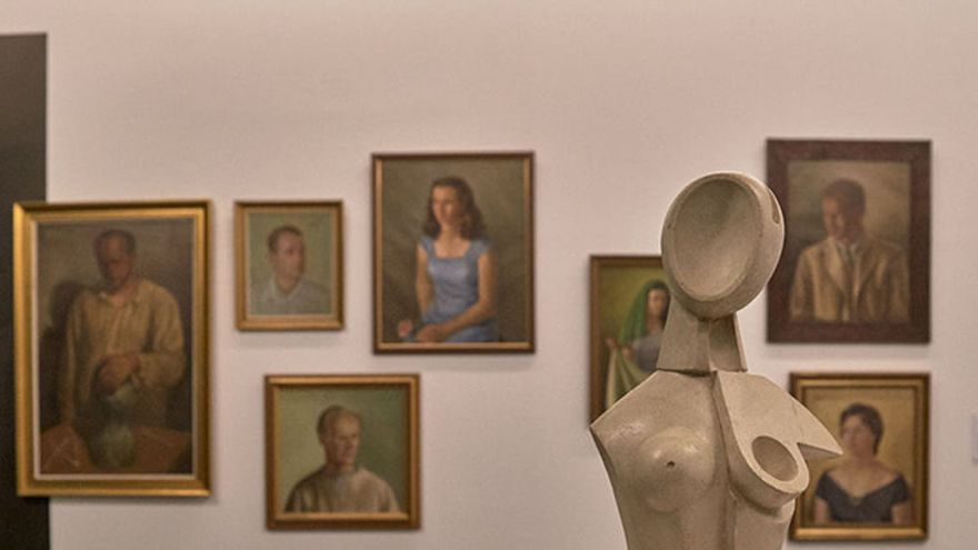Piezas de Carlos Chevilly en el museo TEA, muestra abierta hasta septiembre