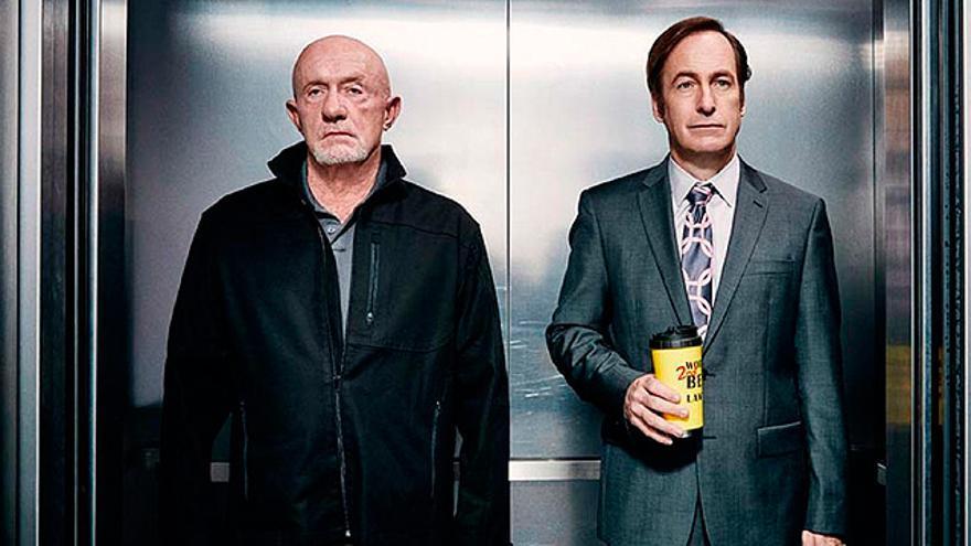 Jonathan Banks y Bob Odenkirk en 'Better Call Saul'