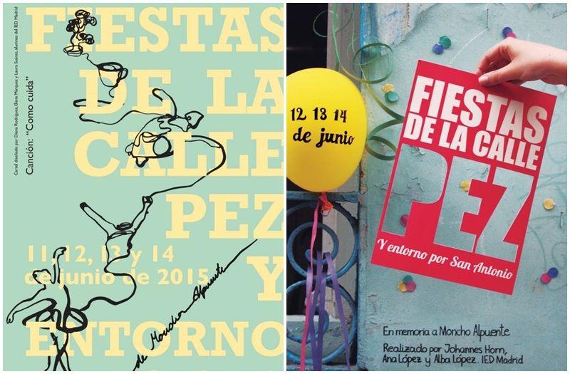 Los dos carteles finalistas