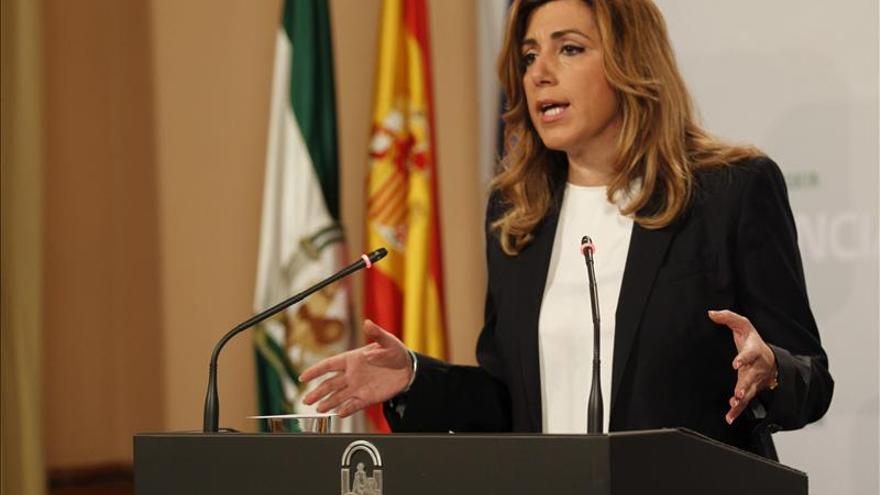 """Susana Díaz apela a la """"unidad"""" del PSOE para aportar """"fortaleza"""" a los candidatos"""