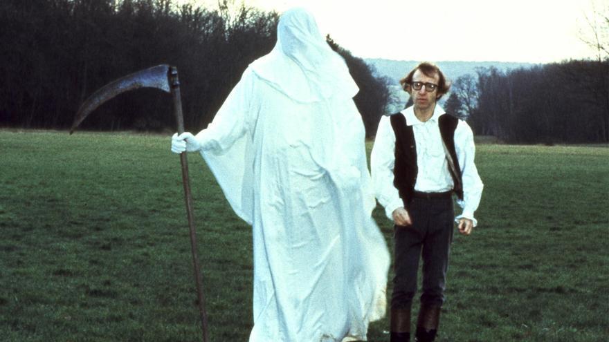 La parca junto a Woody Allen en ' La última noche de Boris Grushenko'
