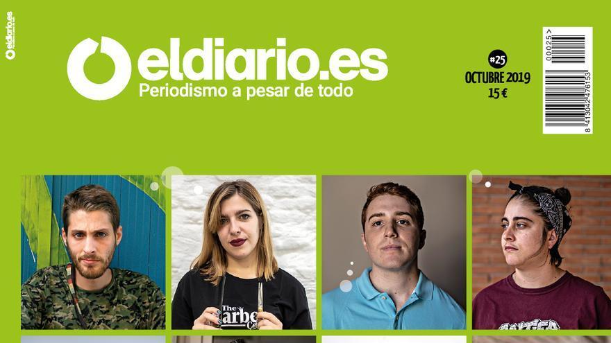 Portada de la revista 25 de eldiario.es
