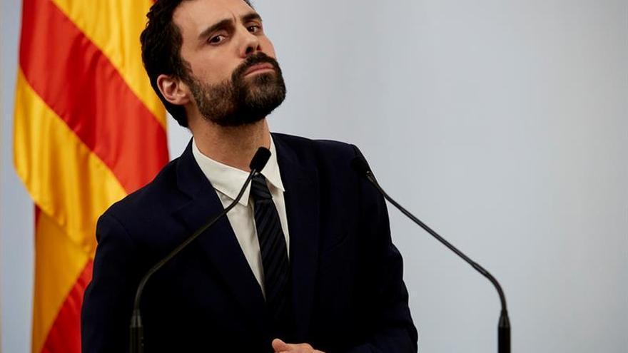 """Torrent mantiene la investidura de Puigdemont y exige """"respeto"""" al Gobierno"""