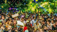Fiesta celebrada en la discoteca Trips de La Manga