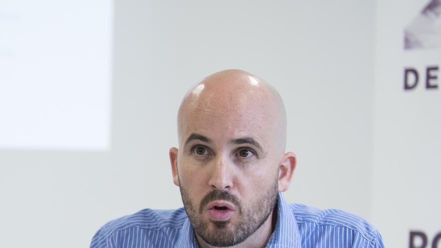 El responsable de economía de Podemos, Nacho Álvarez