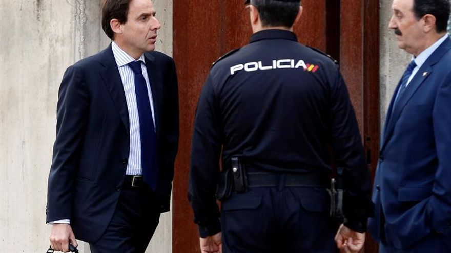 Javier López Madrid, consejero de OHL detenido este jueves y yerno de Juan Miguel Villar Mir, en una imagen de archivo.