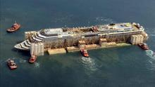 """Hallan restos óseos en el crucero """"Costa Concordia"""" que naufragó en Italia"""