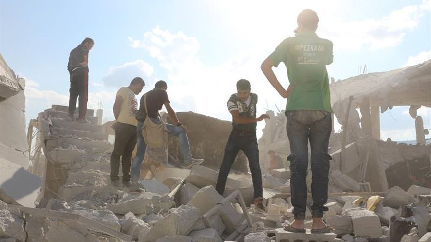 Rusia dice haber matado a 2.359 yihadistas en Siria en los últimos diez días