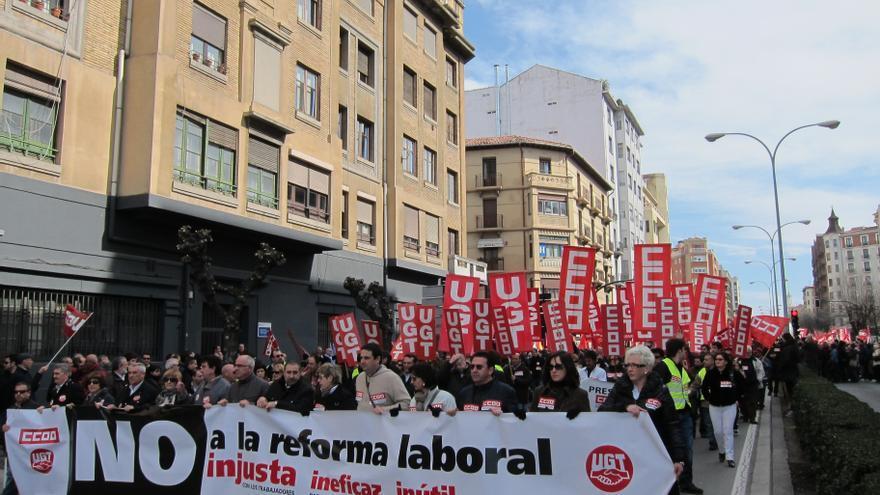 La afiliación sindical en España se sitúa en el 15,9%, una de las más bajas de la OCDE