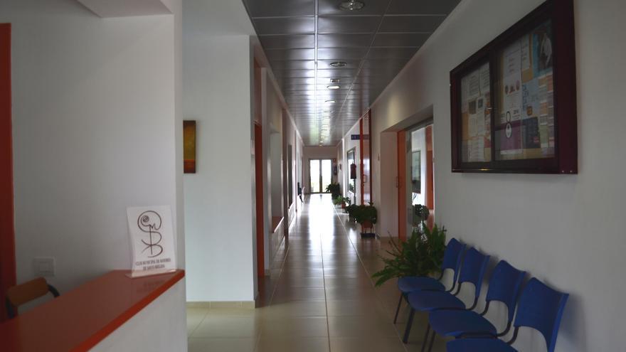 Instalaciones del Club Municipal de Mayores de Santa Brígida.