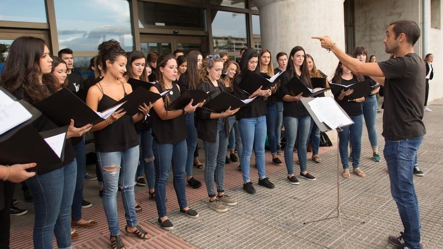 Alumnado de la UPNA participará en el Coro Juvenil del Orfeón Pamplonés