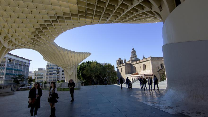 Las Setas, uno de los nuevos iconos urbanos de la ciudad de Sevilla. Viajar Ahora