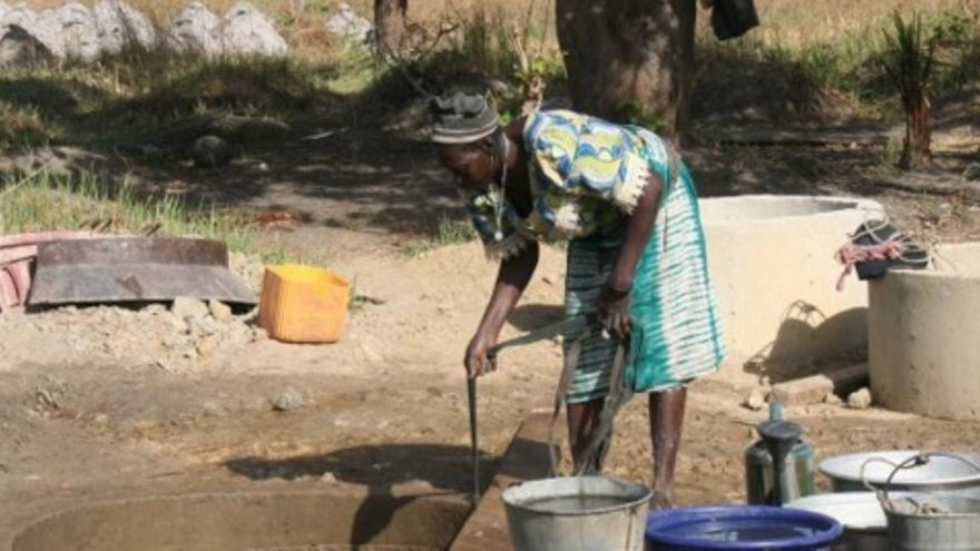Se quiere construir un pozo en una población de Benin