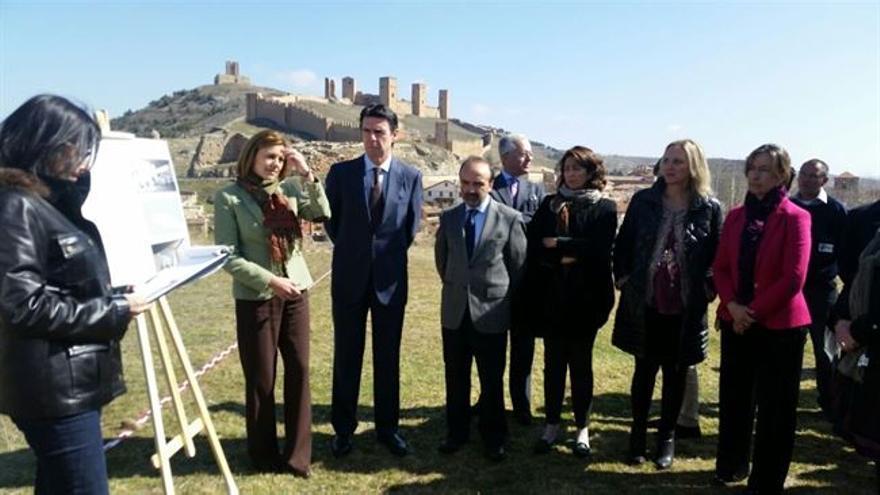 Presentación del proyecto del parador de Molina de Aragón con Cospedal y Soria / Foto: Europa Press