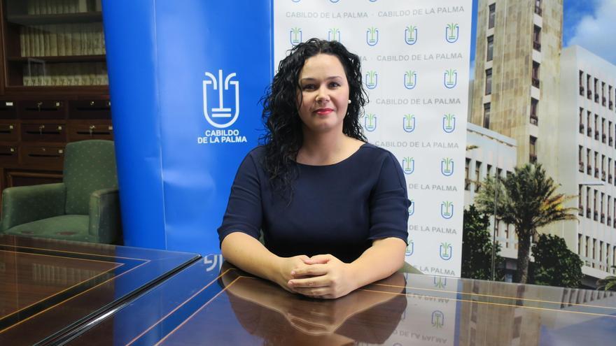 Tatiana Rodríguez, consejera de Empleo del Cabildo de La Palma.