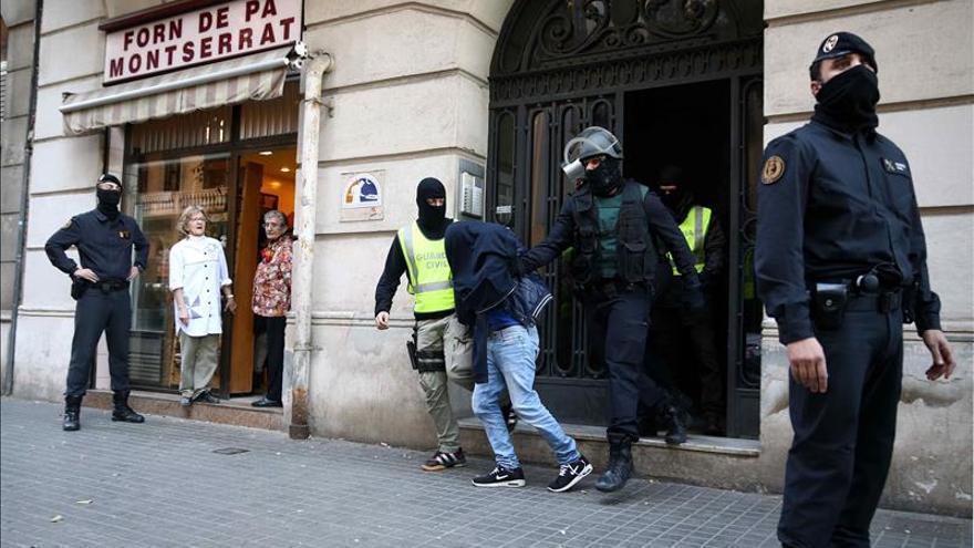 Los detenidos en Cataluña por su relación con Dáesh pasan hoy ante el juez