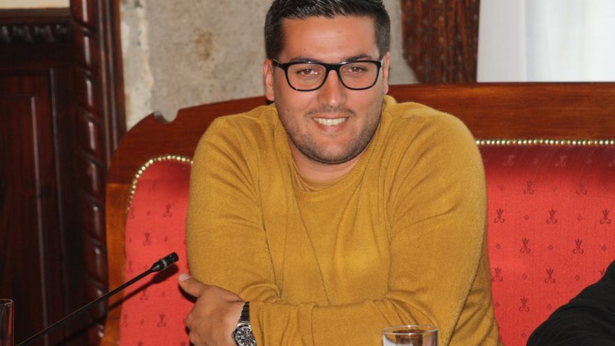 Raico Arrocha, concejal de Educación y Deportes del Ayuntamiento de Santa Cruz de La Palma.