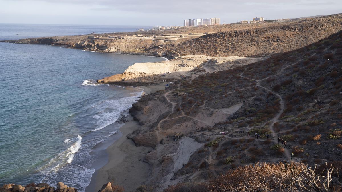 Imagen de archivo de La Caleta de Adeje, al sur de Tenerife
