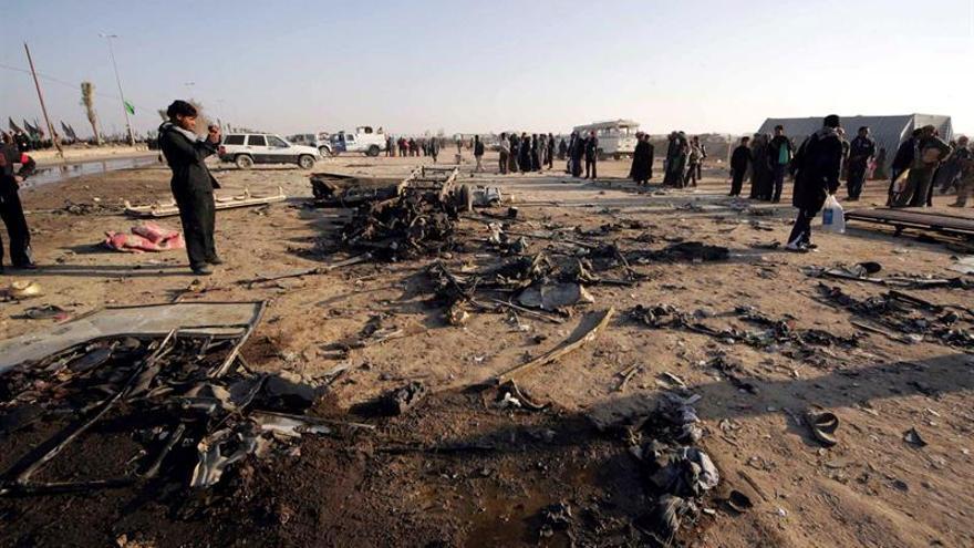 Mueren 6 civiles y 6 terroristas en un ataque con suicidas en el sur de Irak