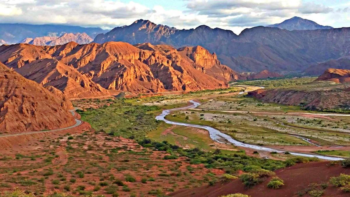 La Quebrada de Las Conchas sirve de puerta de entrada a los Valles Calchaquíes.