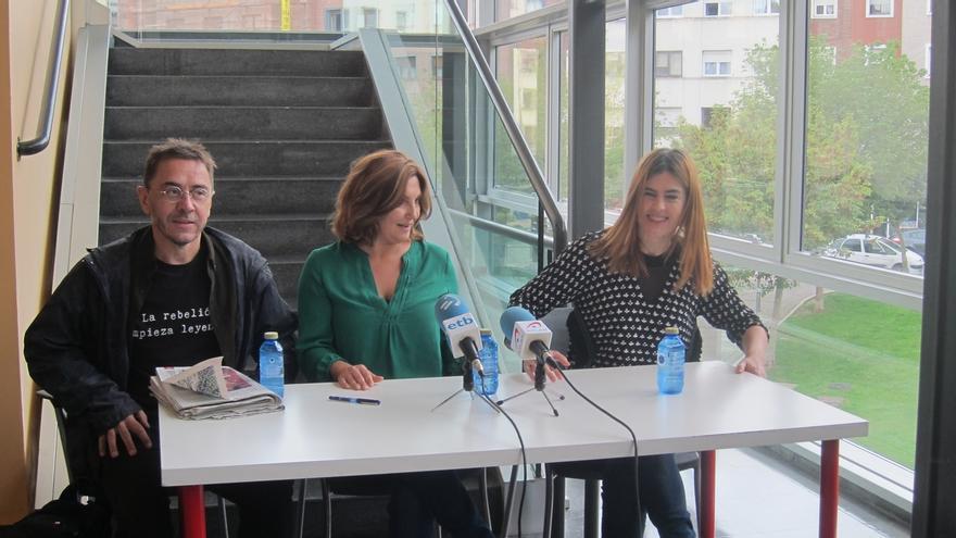 """Monedero dice que las afirmaciones del Gobierno respecto a Cataluña recuerdan a """"las justificaciones de julio del 36"""""""