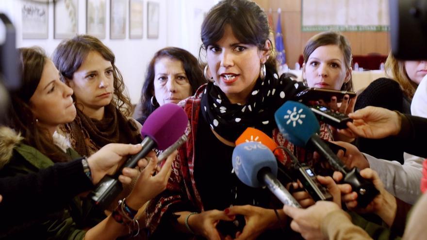 """Rodríguez afirma que nadie, """"ni Iglesias, ni Sánchez, ni Díaz"""" pueden cuestionar que Andalucía es nacionalidad histórica"""