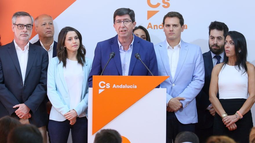 Juan Marín, candidato de Ciudadanos en Andalucía