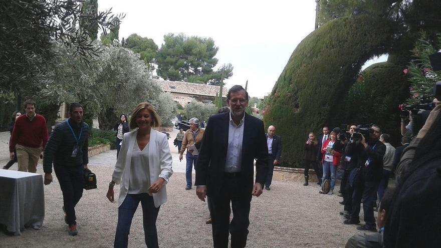 """Rajoy dice a Mas que la ley obliga a todos, especialmente a gobernantes """"que se la saltan liquidando la convivencia"""""""