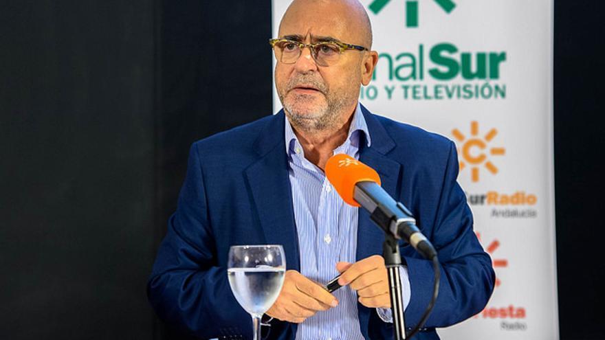 Carlos Rosado, presidente de la Andalucía FIlm Comission y la Spain Film Comission /Foto: RTVA